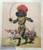 India Mutiny - Original 19th century coloured lithograph scenes of the Indian mutiny showing
