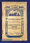 Century Pottery Co, Burslem, Staffordshire. Circa 1910 Sales Catalogue A 46 page Catalogue of