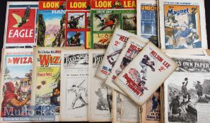 Assorted Selection of 1880s to 1967 Children's Comic Books / Magazines consisting of Chums 1890s,