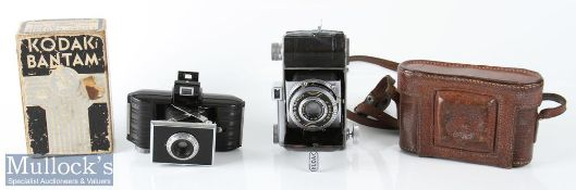 Kodak Retina folding camera marked 882915 internally with Ektar f:3,5 f=50mm no 997454 and 5221214