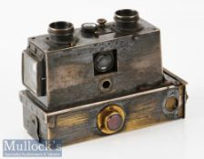 c1890 Negretti & Zambra, London Brass Verascope Camera marked 8561 to reverse with solid brass