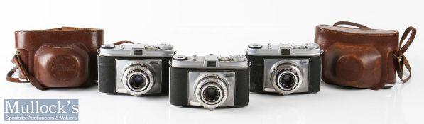 Kodak Retinette Cameras to include 332104 Schneider/Reomar 1:3,5/45mm, 331961 Schneider/Reomar 1:3,