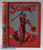 """The Scout Annual 1942 Being a bound annual of all 52 weekly editions of each 8 page """"The Scout"""""""