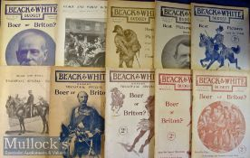 Selection of 1899-1900 Black and white Magazines featuring various issues in Vol I, II and III – Nos