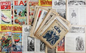 Selection of Older Children's Comics / Magazines from 1880s to 1963 consisting of The Union Jack