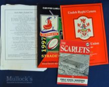 Welsh Interest Rugby Programmes etc (4): Carwyn James Memorial Match Llanelli v NZ, 48 page Souvenir