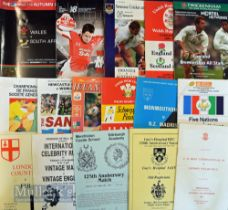 Special Games Rugby Programmes (16): A M Rees' International XV v London Welsh at Twickenham,