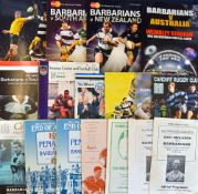 Barbarians Rugby Programme Super Selection (29): A super chance to collection-build with the
