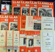 Llanelli home Rugby Programmes 1970-1997 (25): To incl v Australia 1966, South Africa 1970 and NZ (