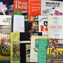 Rugby etc Marvellous Miscellany (22): England/Wales v Scotland/Ireland RFU Centenary 1970;