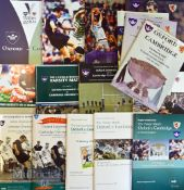 Varsity Oxford/Cambridge Rugby Programmes 1996-2011 inclusive (16): Lovely run of often very