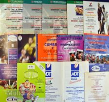 County Championship Rugby Programmes (16): Finals at Twickenham from 1992-9 inclusive, 2002, 2005 (