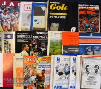 Bumper Bundle of Rugby Programmes/Ephemera (25): Great wide selection of rugby interest. Programmes: