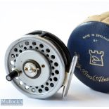 Hardy Bros England The Marquis 7 Multiplier alloy trout fly reel - correct smooth alloy foot, U