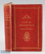 """Ferguson, Malcolm – """"Fishing Incidents and Adventures"""" 1893 1st edition, published by John Leng &"""