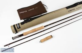Grey's Greyflex M2 fly rod 10ft 3pc 7/8 line with 4ins extension butt, light use in MCB and