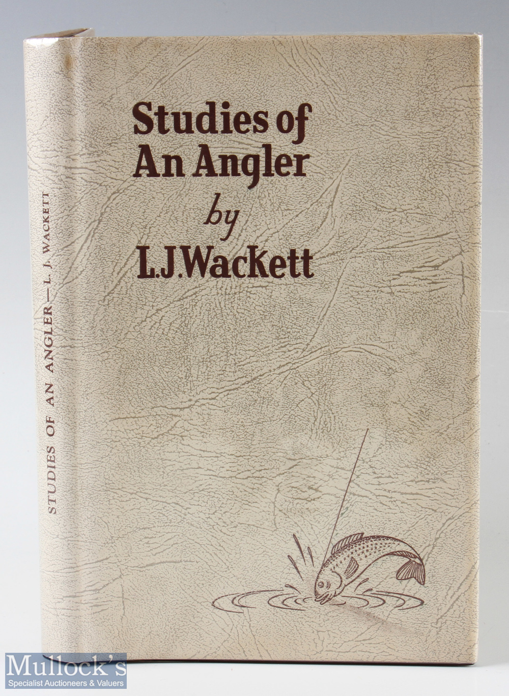 """Wackett, L. J. – """"Studies of an Angler"""" 1st edition published Melbourne 1950, with dust jacket"""