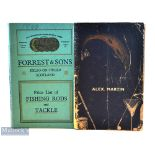 2x Scottish Fishing Tackle Makers Catalogues from 1938 and 1940 – Forrest & Sons Kelso on Tweed