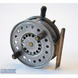 Early Pre Production Wallace Watson Silex style alloy casting reel (pre Patent/Factory model?) -