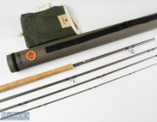 Hardy Bros Swift MkII 13ft 4pc carbon salmon fly rod line 8#, light use in MCB and cordura tube