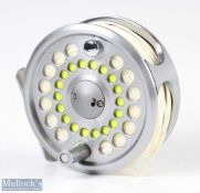 Shimano Ultegra 7/8 fly reel anodised finish rear drag adjuster, loaded with float line, very