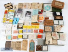 Large Collection of Assorted Hooks incl S Allcock & Co, Partridge, Geo Wilkins & Son, Robert