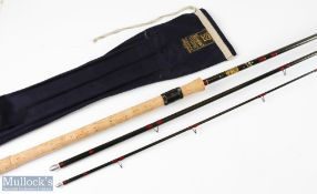 Hardy carbon match float rod 12ft (365cm) 3pc, appears unused, in MCB and plastic tube