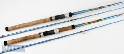 2x ABU spinning rods in makers bags including Abu Svangsta Suecia 311 6.5ft Henry Monk retailed &