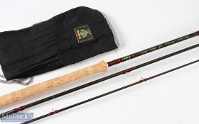 Daiwa made in Scotland Amorphous Whisker Osprey MkII salmon fly rod, casting Spey Special 14ft