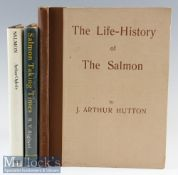Salmon Fishing Book Selection x3 – Oglesby, A; Salmon, 1971 1st edition, Righyni, R; Salmon Taking