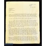 Richard Walker (b.1918 – d.1985) Archive of Fishing Letters 1969-1979. An incredible collection of