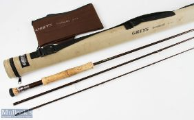 Grey's Greyflex M2 reservoir fly rod 10ft 3pc 7/8 line, soiled handle but otherwise good in MCB