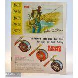 "Interesting Alvey & Son Brisbane Australia Fishing Coloured Catalogue – Featuring The ""World's"