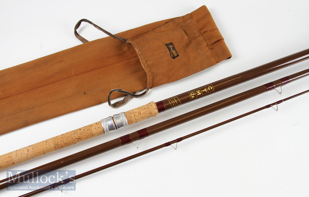 B James & Son (with Bruce & Walker) glass rod CTM12A comes with maker's rod bag
