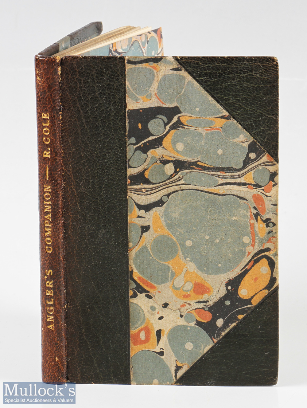"""Cole, Ralph – """"The Young Angler's Pocket Companion"""" or a new and complete treatise on the art of"""