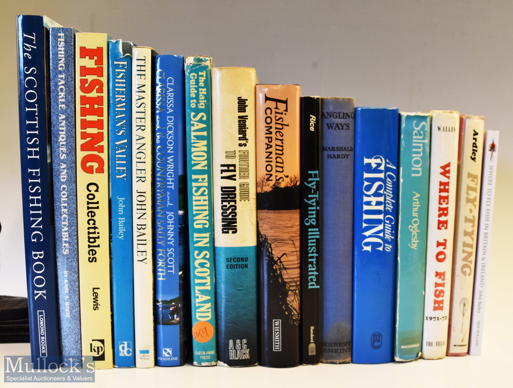 Fishing Book Selection – containing books on fly and salmon fishing incl Salmon Fishing in Scotland,