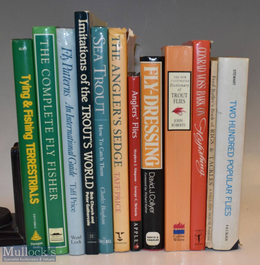 Selection of Fishing Books including The Angler's Sledge, Sea Trout and How To Catch Them,