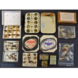 Collection of Interesting Fishing Tackle Makers Fly Boxes, Tins, Line and Flies – Ogden Smiths