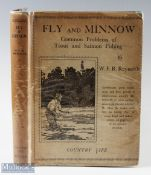 """Reynolds, W. F. R. – """"Fly and Minnow"""" common problems of trout and salmon fishing, 1930 1st edition,"""
