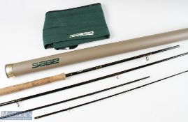 Sage 10151-4 Graphite IV salmon rod 15ft 1ins 4pc line 10, 10 5/8oz, small section of third male