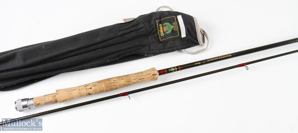 Daiwa Amorphous Whisker 11ft trout comp special rod 2pc line 6/8# in mcb