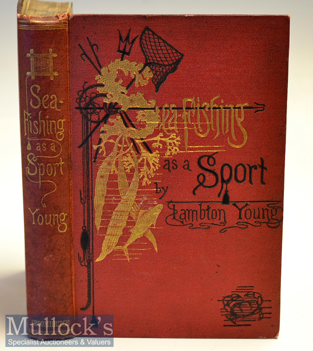 """Sea Fishing Book - Young, Lambton J H - """"Sea-Fishing as a Sport - being an account of the Various"""