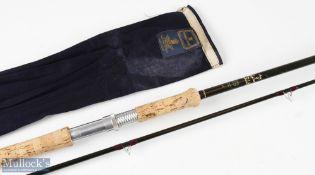 Hardy Bros Favourite Graphite spinning rod 11ft 2pc 1 1/2oz c/w MCB, light use