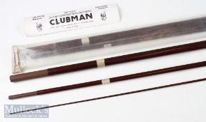 Pair of Hardy Clubman 13ft 3piece float/match rod blanks with fitted spiggots