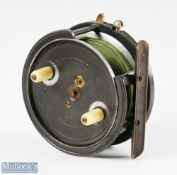 """Hardy Bros 4"""" The Silex alloy casting reel stamped 'Hardys Pat', stamped C internally (Callow or"""