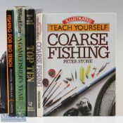 """Fishing Books x4 – Bruce Vaughan """"Top Ten"""", William Currie """"A Gamefisher's Year"""", Rickards, Webb &"""