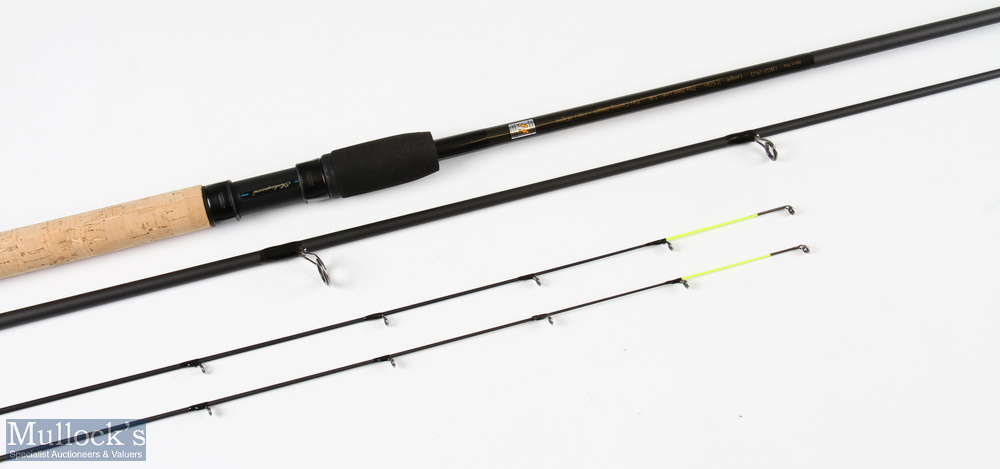 Shakespeare Mach I 8ft quiver tip carp/ledgering rod very light use in MCB - Image 2 of 2