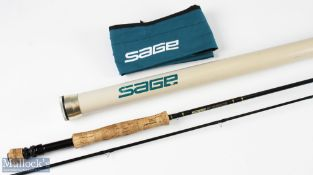 Fine Sage SP+ Graphite IV 9ft fly rod 2pc 4 1/8oz, line 8#, with MCB and alloy tube