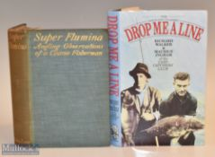 """2x Fishing Books – Super Flumina """"Angling Observations of a Coarse Fisherman"""" 1905 1st edition in"""