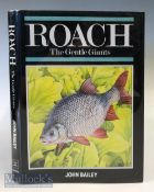 """Bailey, John – """"Roach The Gentle Giants"""" 1987 1st edition, published by The Crowood Press, with dust"""